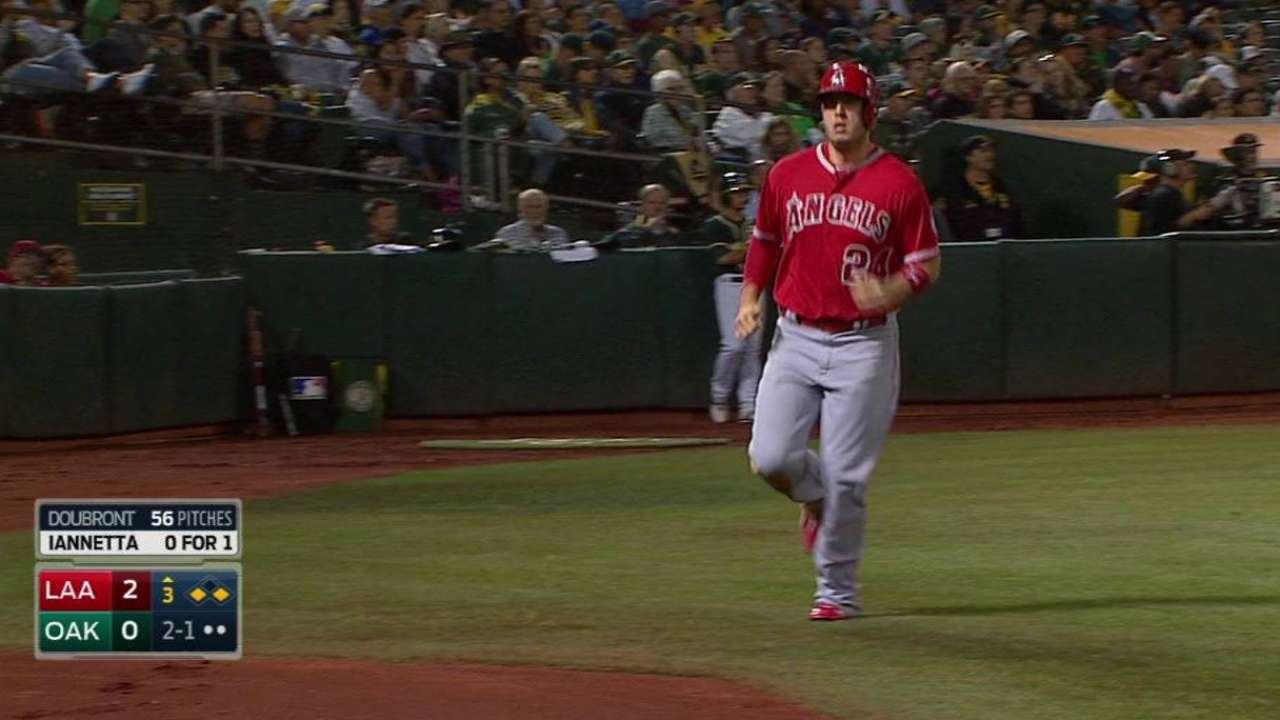 Cron steals home