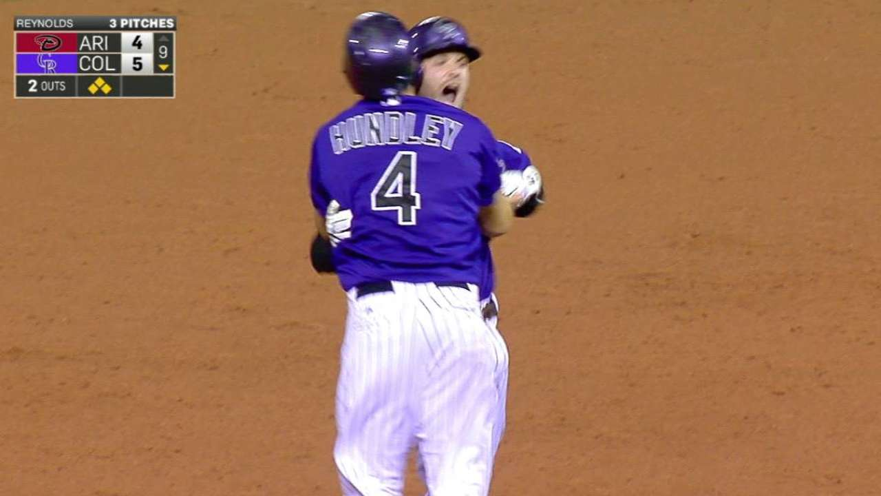 Rox rally for four runs, walk off in ninth
