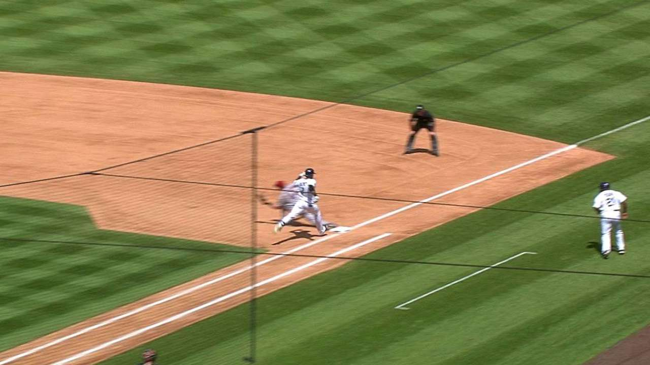 Corbin flashes top form as D-backs deny Rox