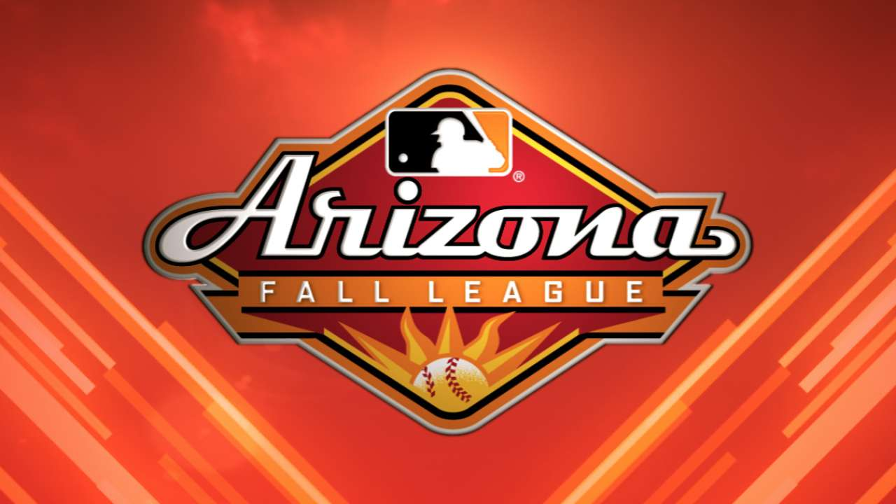 Rays prospects open play in Arizona Fall League
