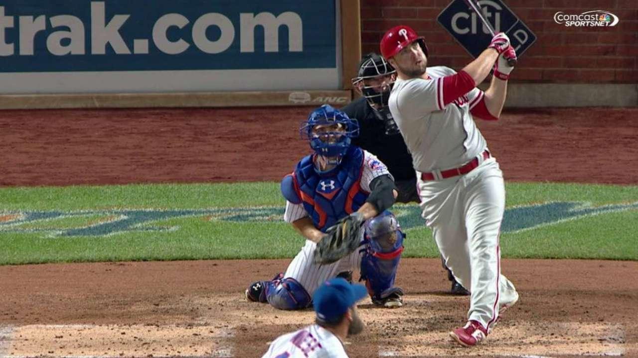 Ruf's three-run homer