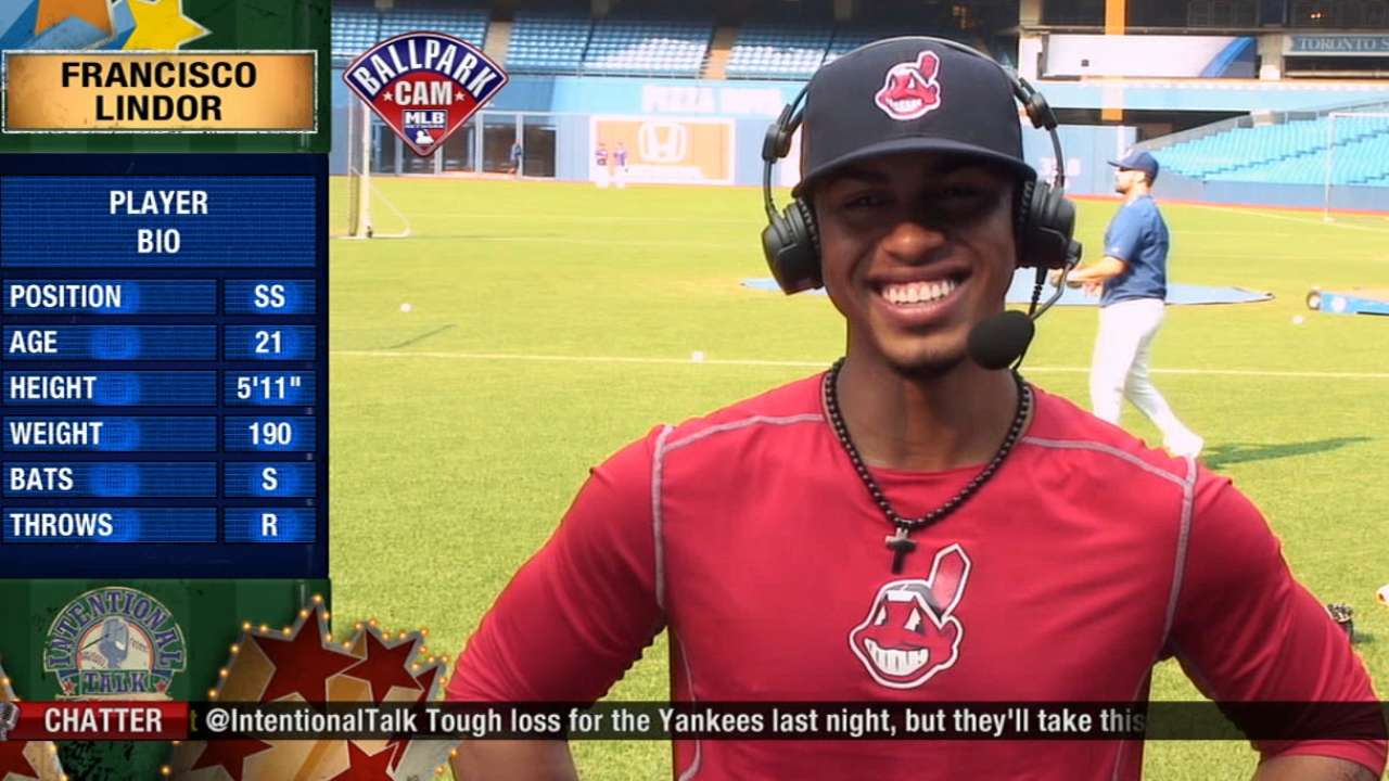 Francisco Lindor on IT