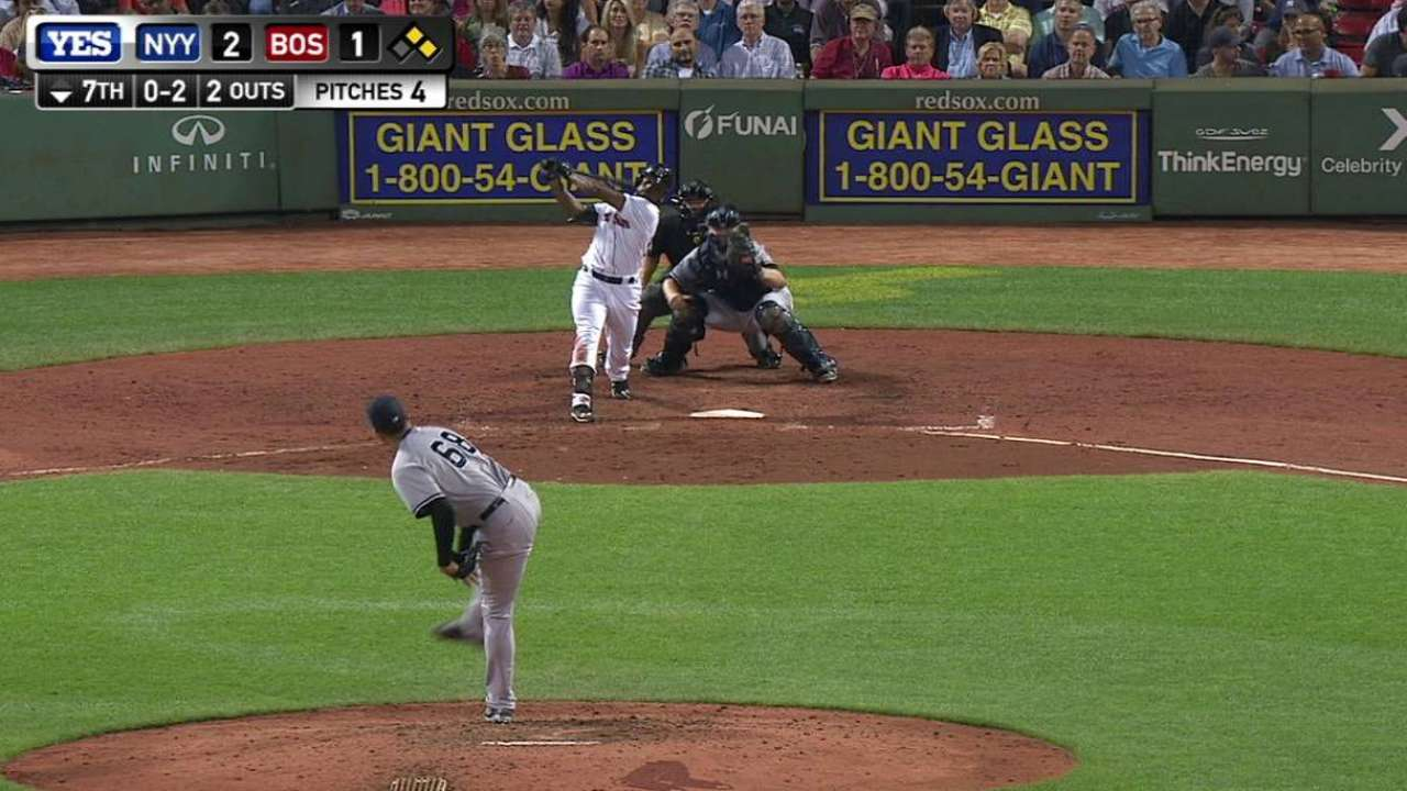 Betances gets out of trouble