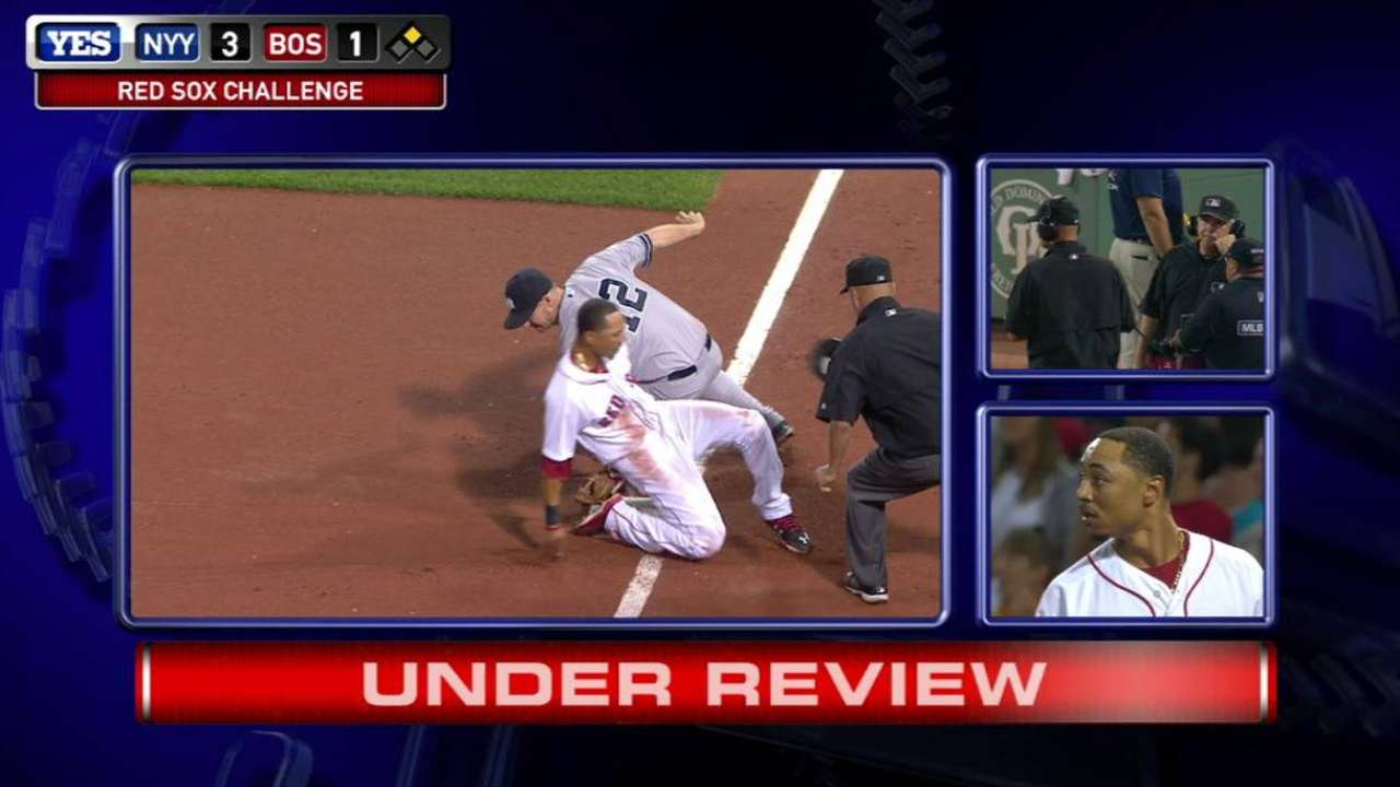 Aggressive steal backfires on Sox