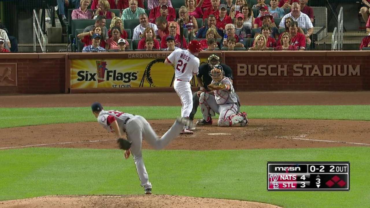 Fister escapes bases-loaded jam