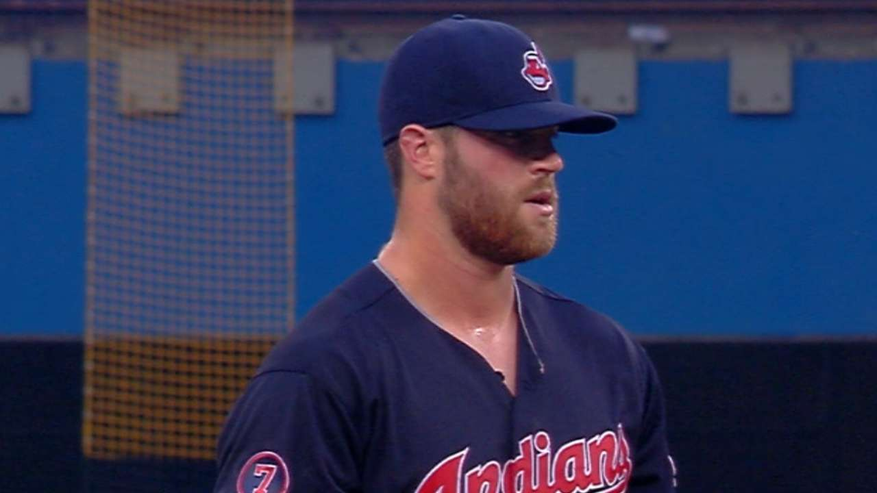 Gomes' HRs unable to save Tribe's streak
