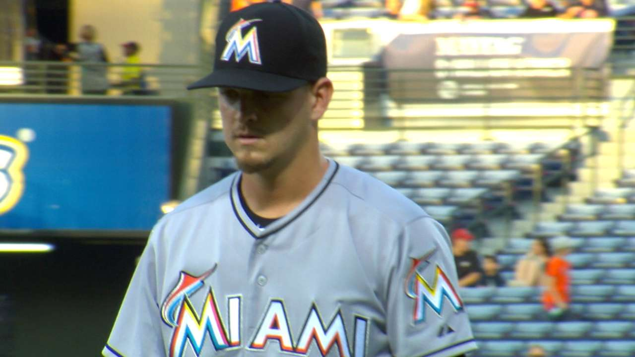 Nicolino's increased maturity evident with every start