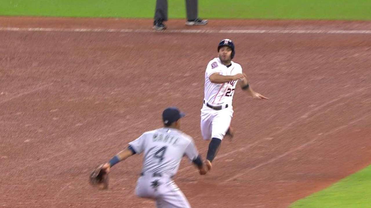 After Feldman exits, Astros rally but fall short