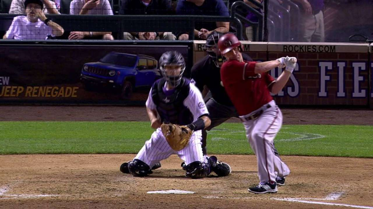 Pollock ayudó a D-backs a barrer doble cartelera en Denver
