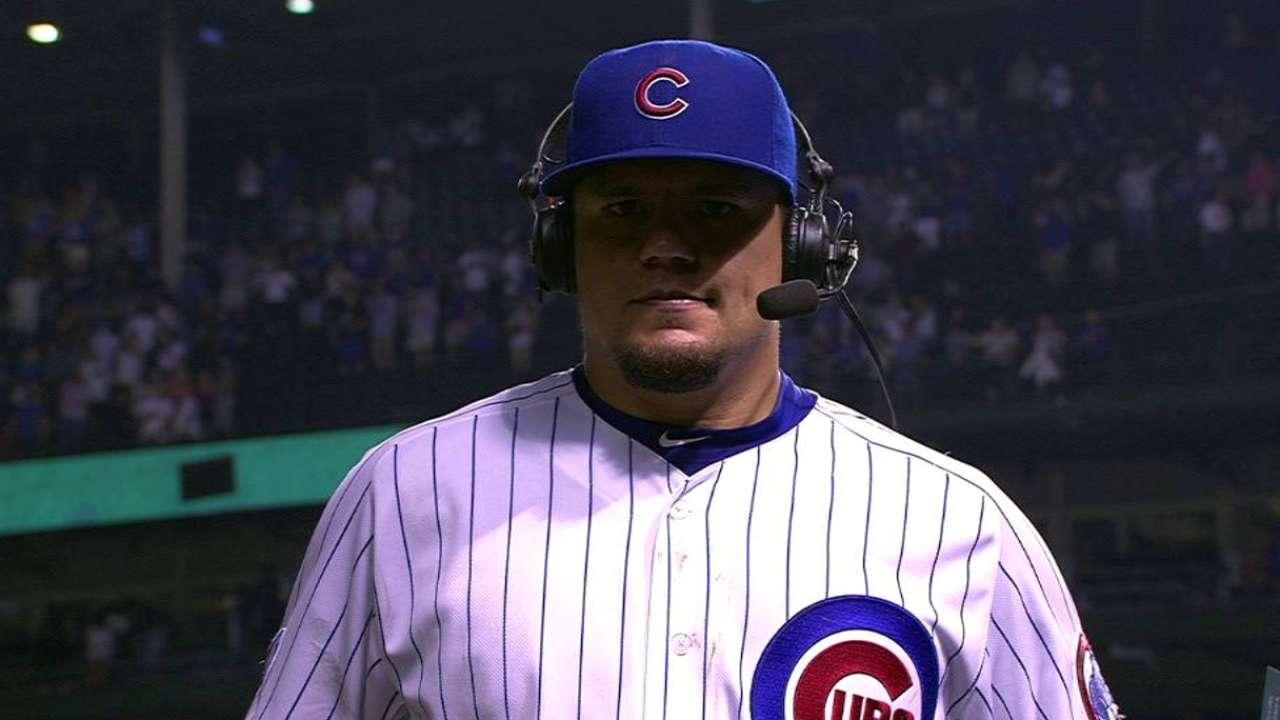 Schwarber on Cubs' win