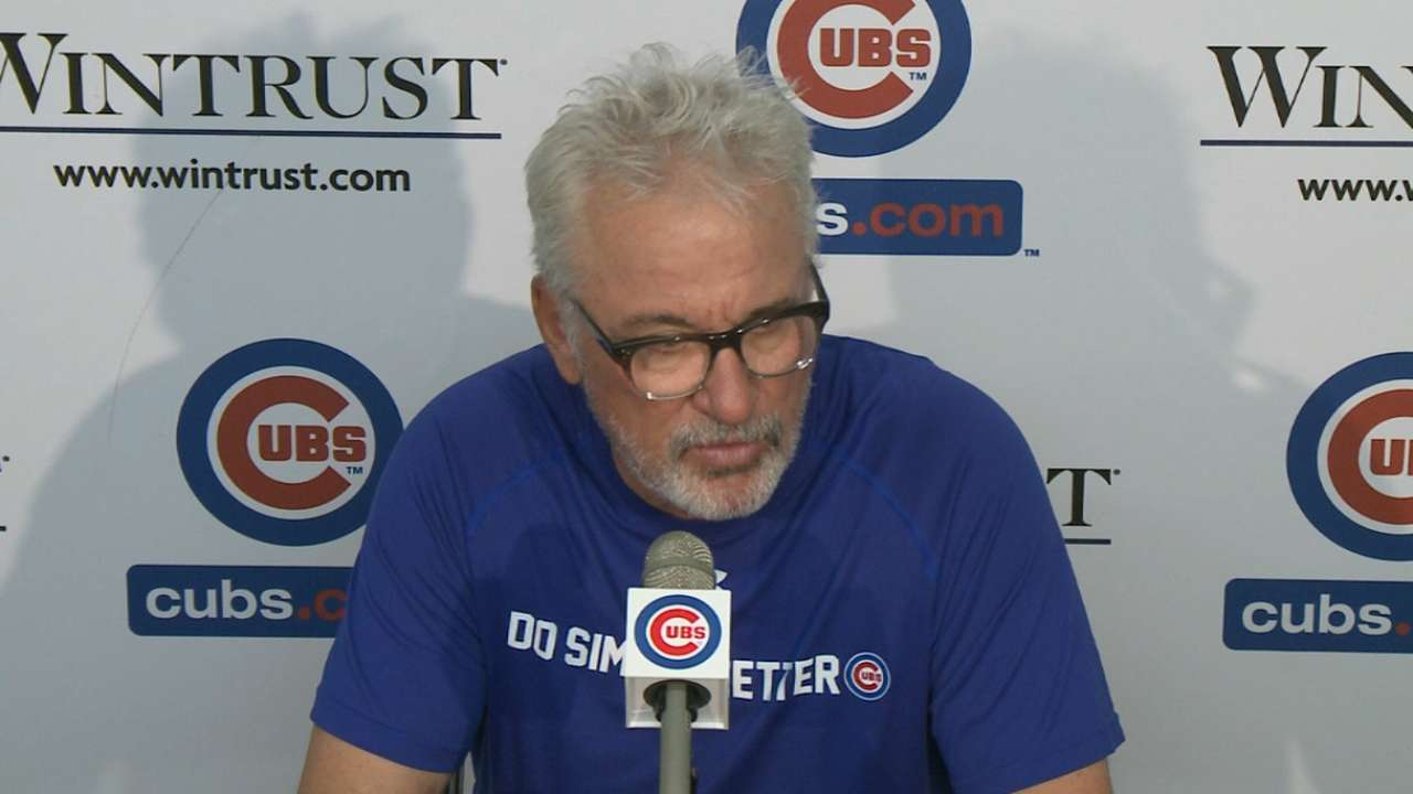 Maddon on bullpen in Cubs' win
