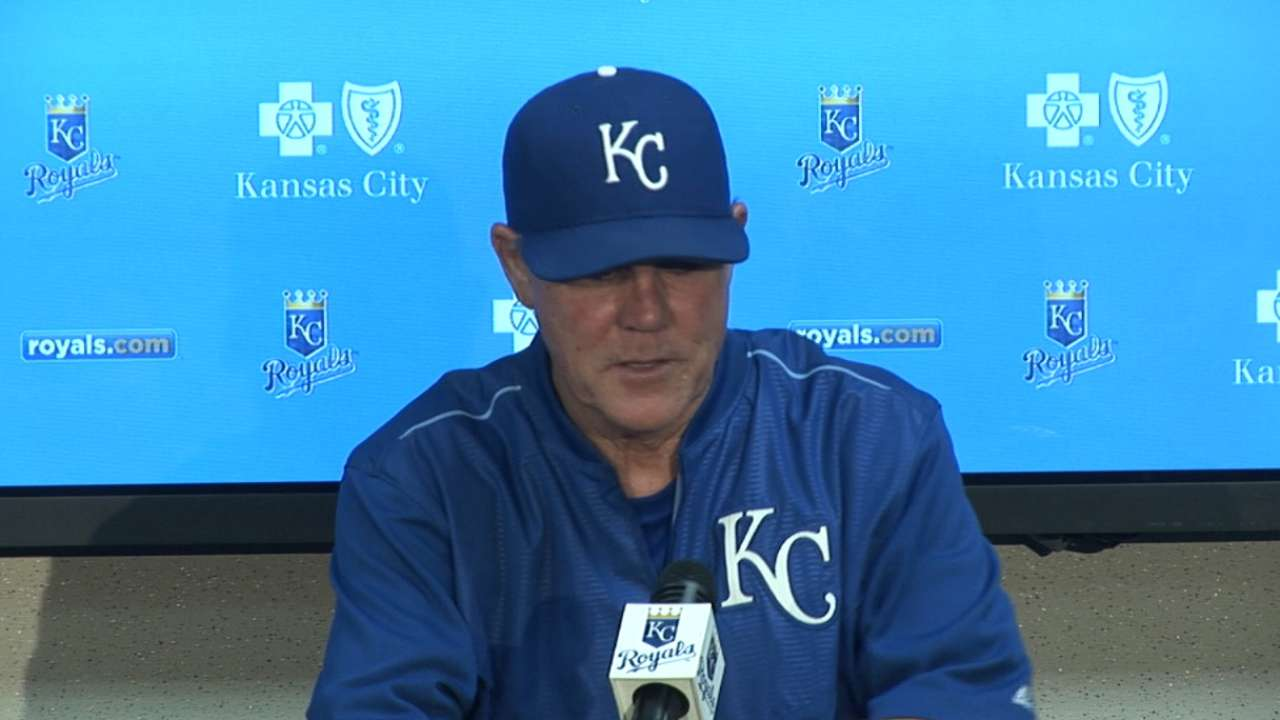 Yost on loss to Tigers