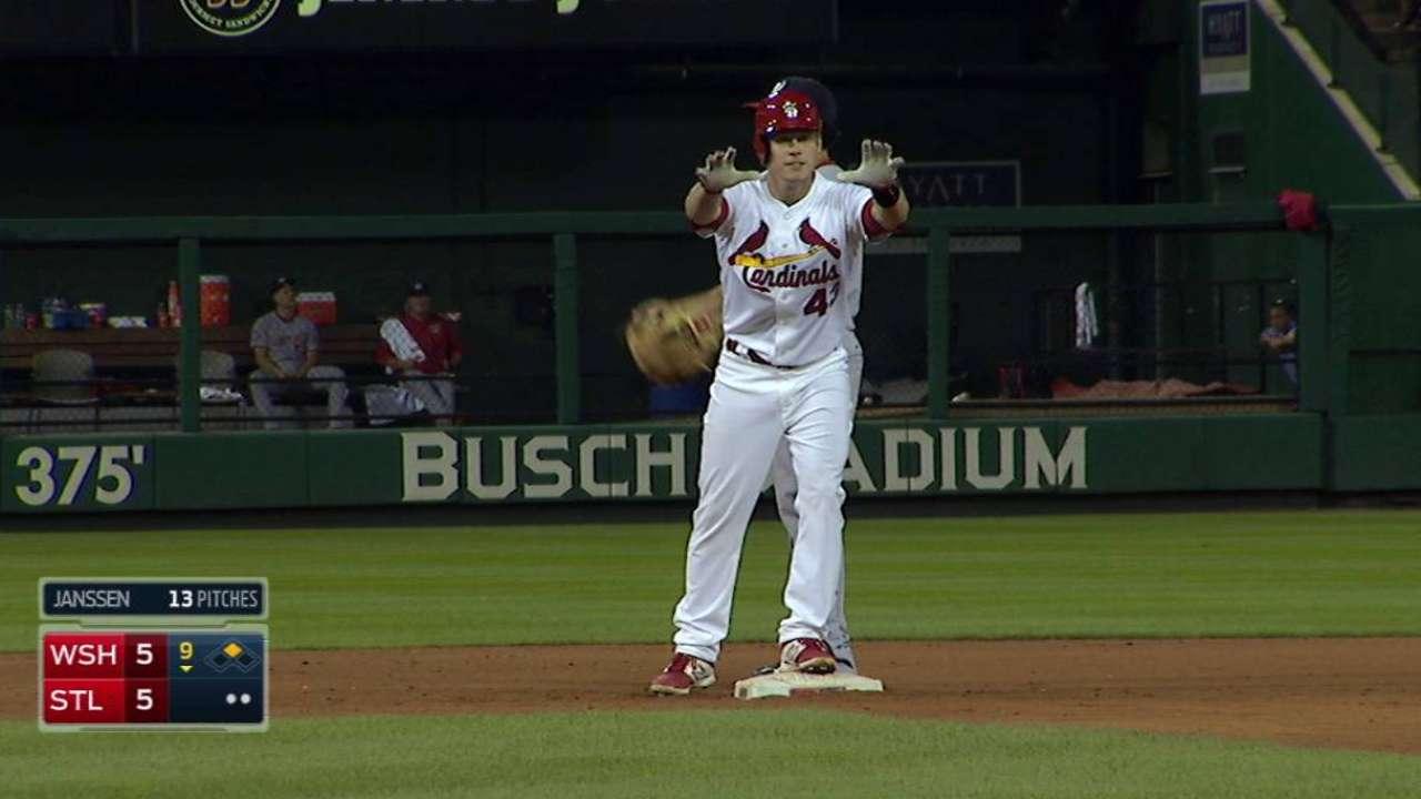 Cardinals call up Gonzales, Harris, Stanley