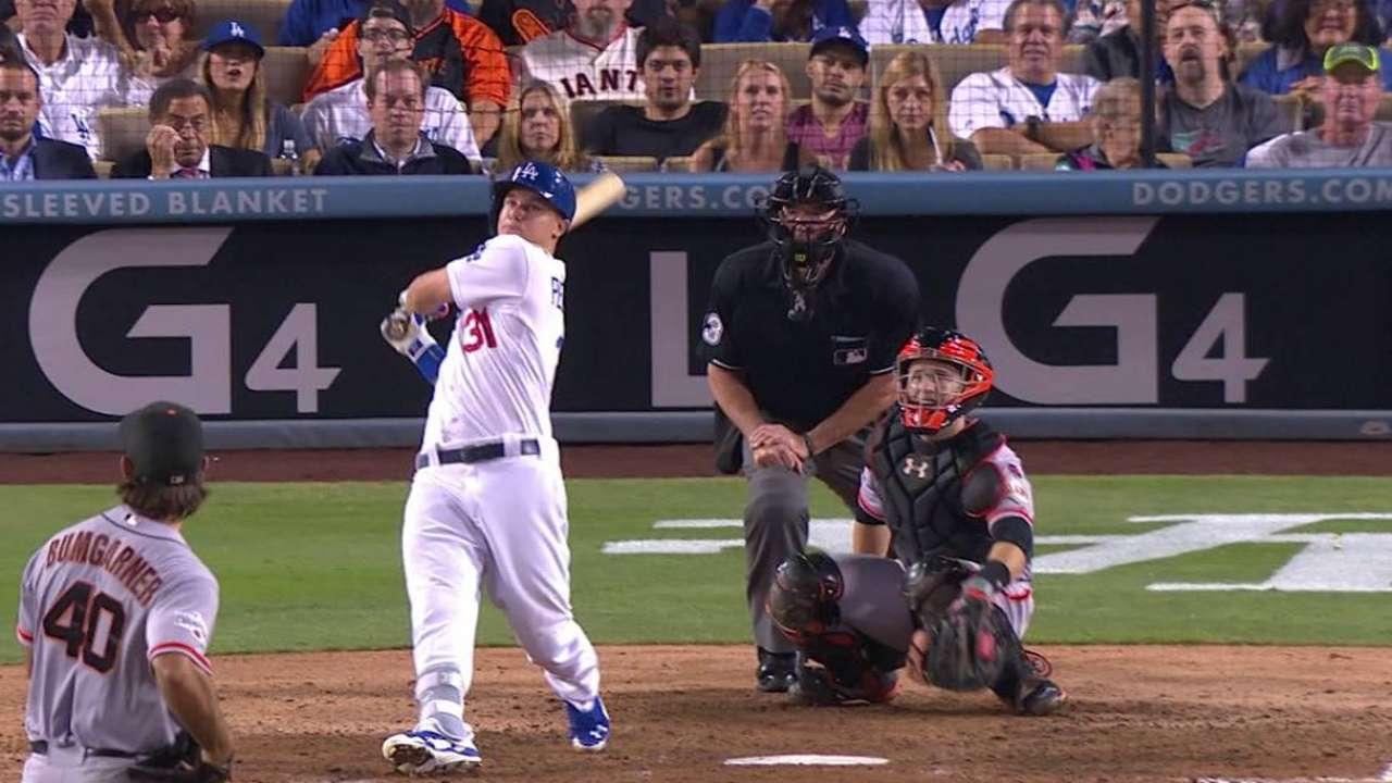 Pederson's solo home run