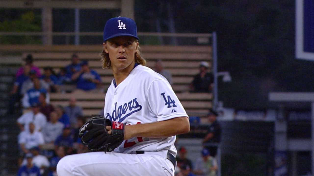 Greinke's strong outing