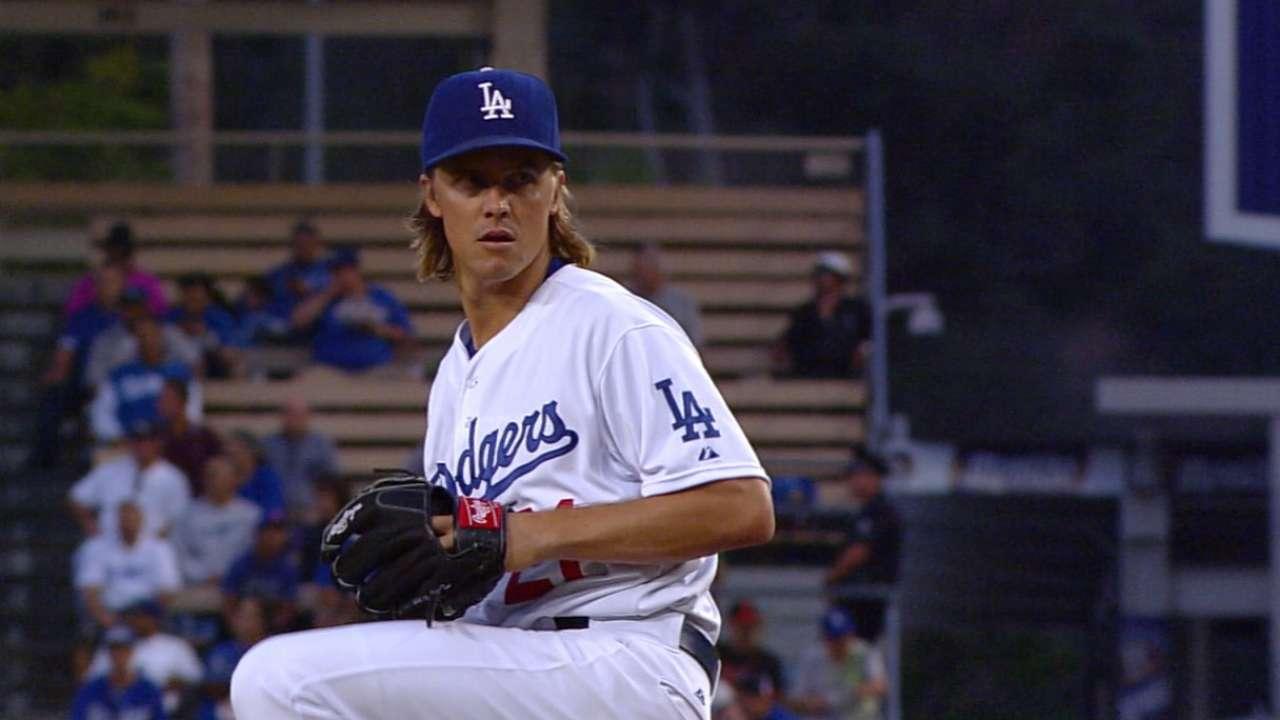 Hollywood trending: Greinke, Dodgers edge MadBum