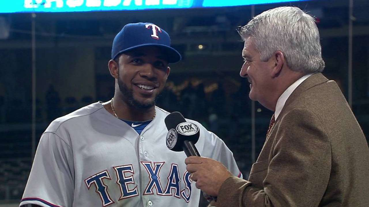 Andrus on big game, win