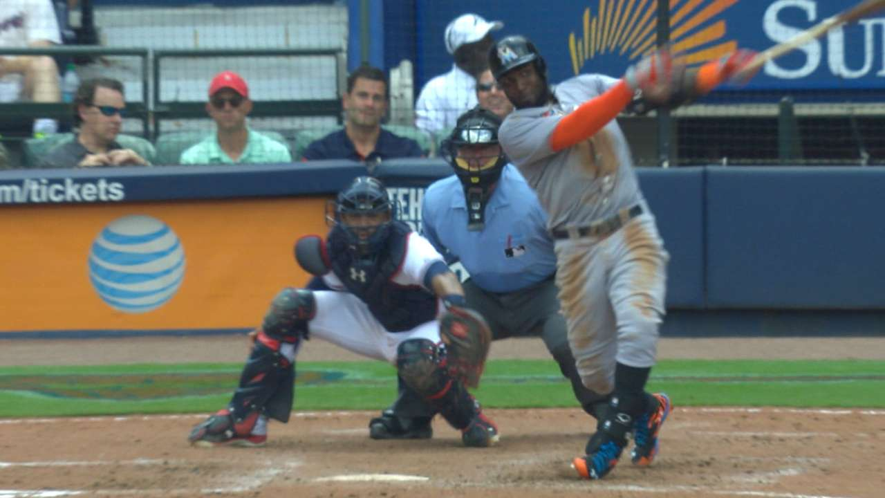 Ozuna's two-run shot