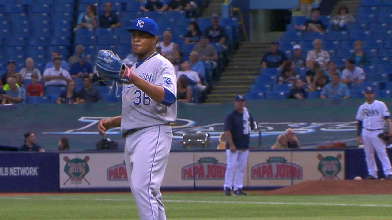 Volquez, Morales send Royals past Rays