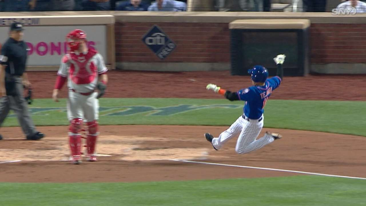 Must C: Tejada speeds home