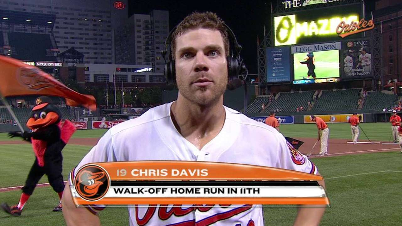 Davis on walk-off win