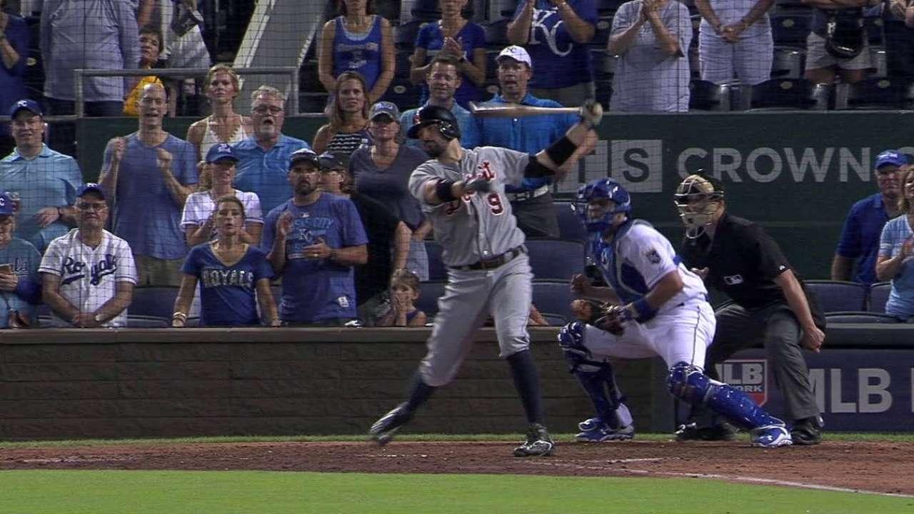 Alexander's first MLB strikeout