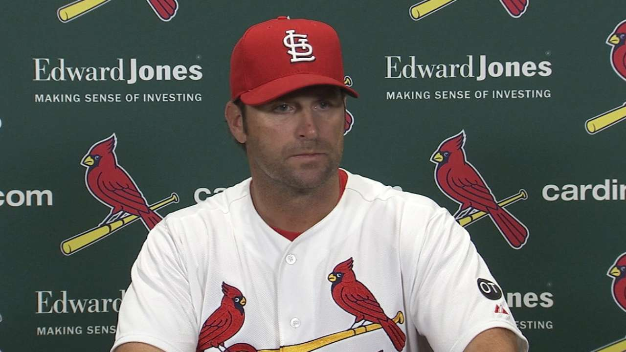 Matheny on Cardinals' 4-3 loss
