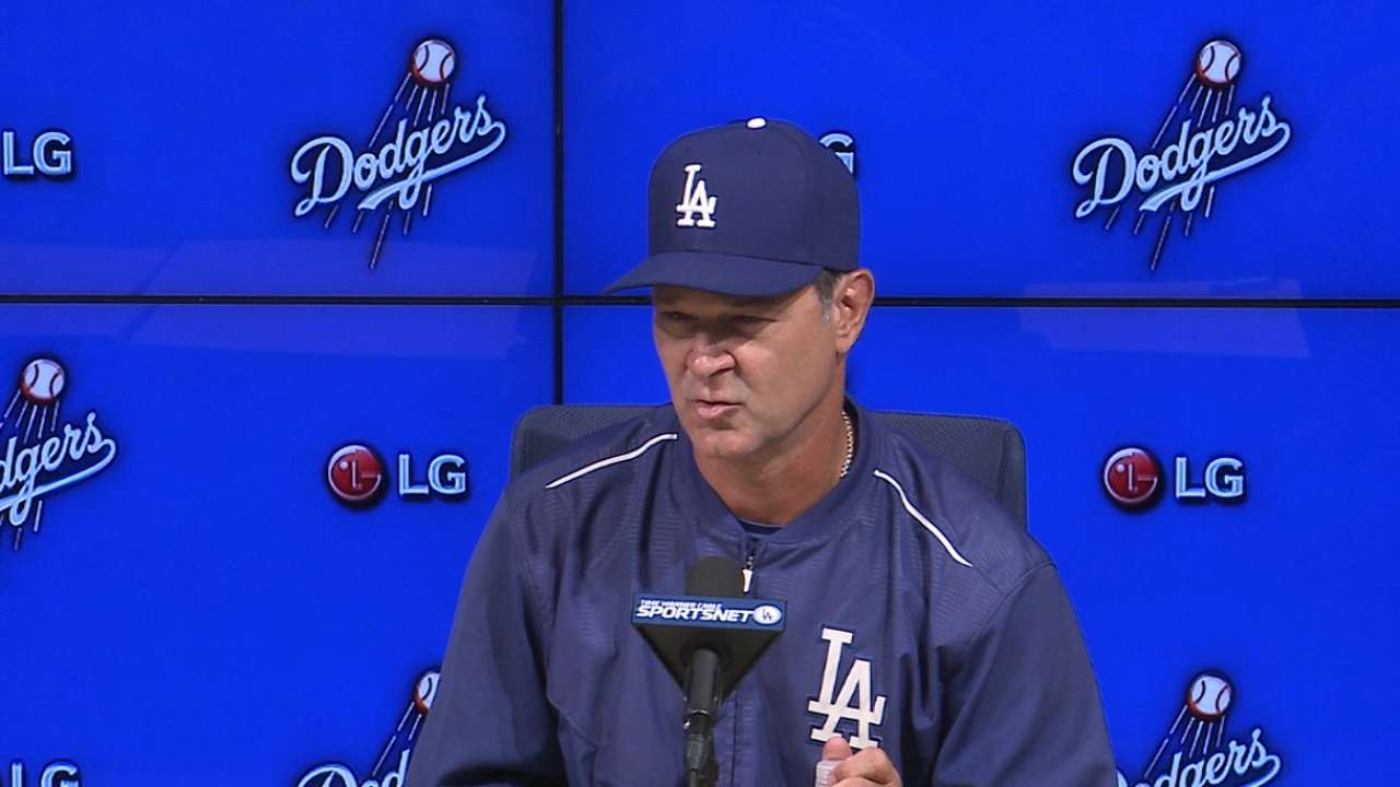 Mattingly on Kershaw's outing
