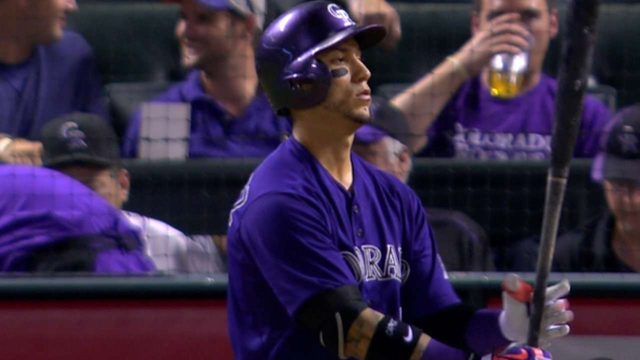 Rox drop D-backs on CarGo's slam, 7 RBIs