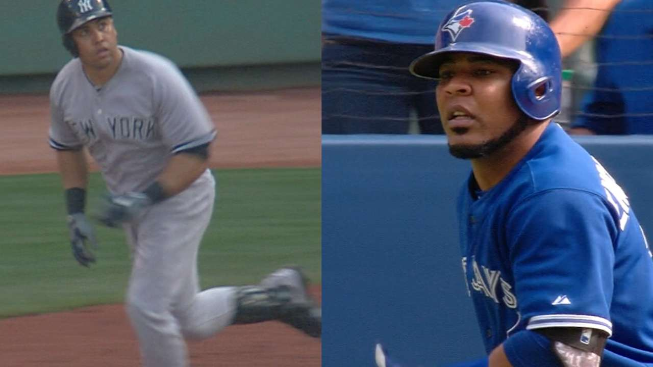 No letting up for Jays, Yanks in airtight East