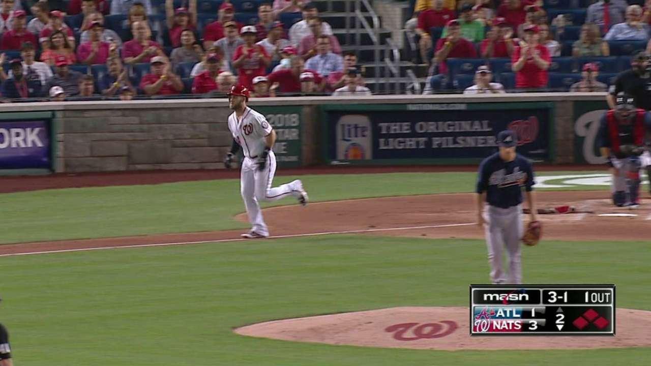 Harper's bases-loaded walk