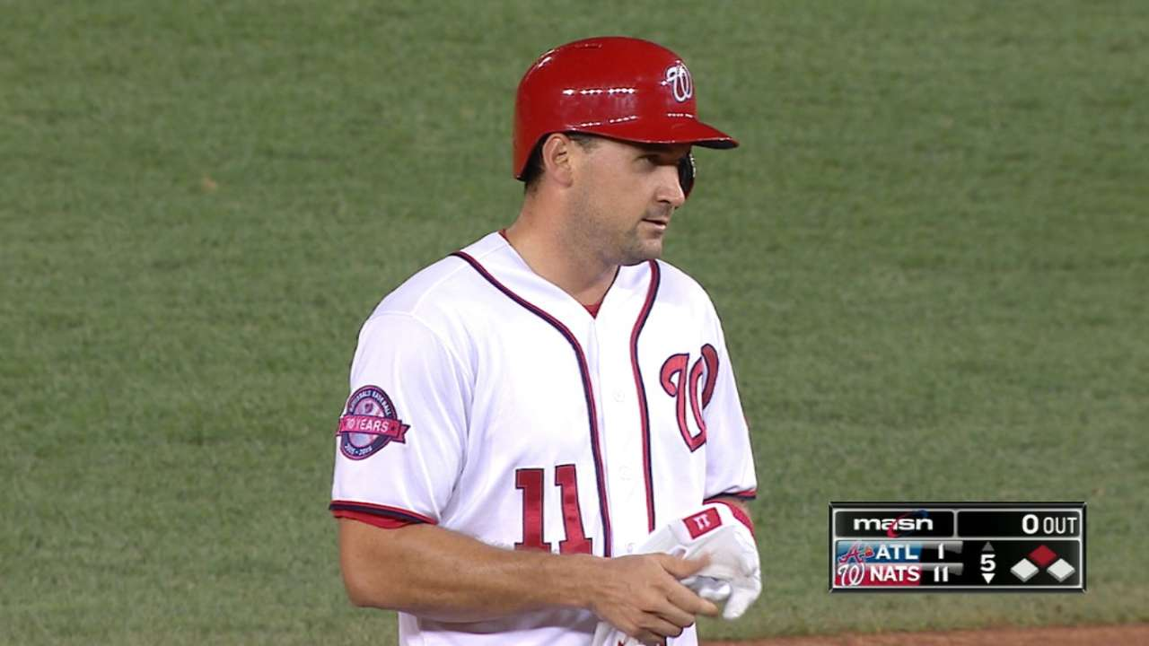 Zimmerman's four-hit game