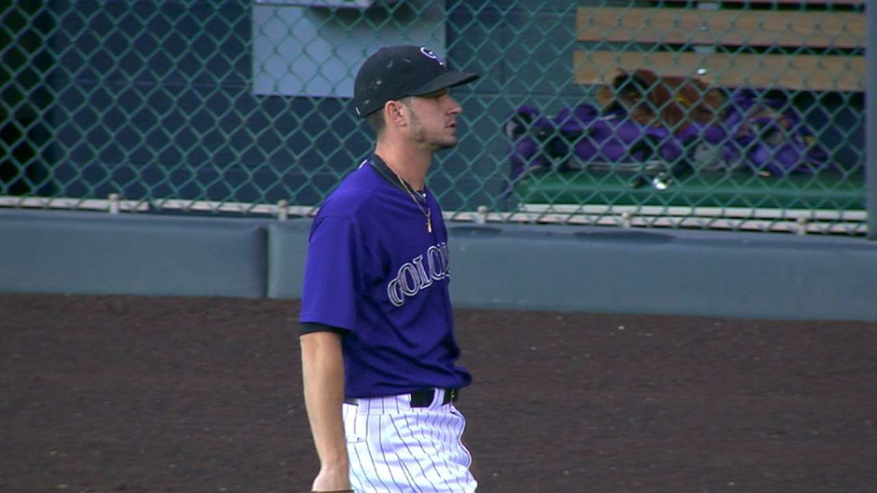 Rox scratch Rusin due to finger inflammation