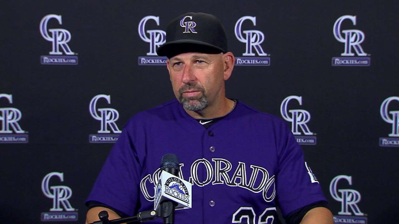 Weiss on CarGo, win over Giants