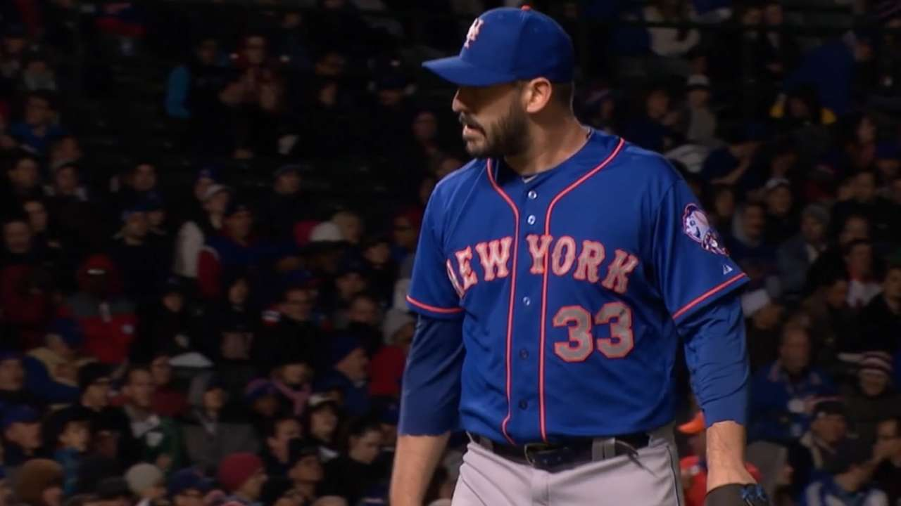 Responding to Boras, Mets stick with Harvey plan