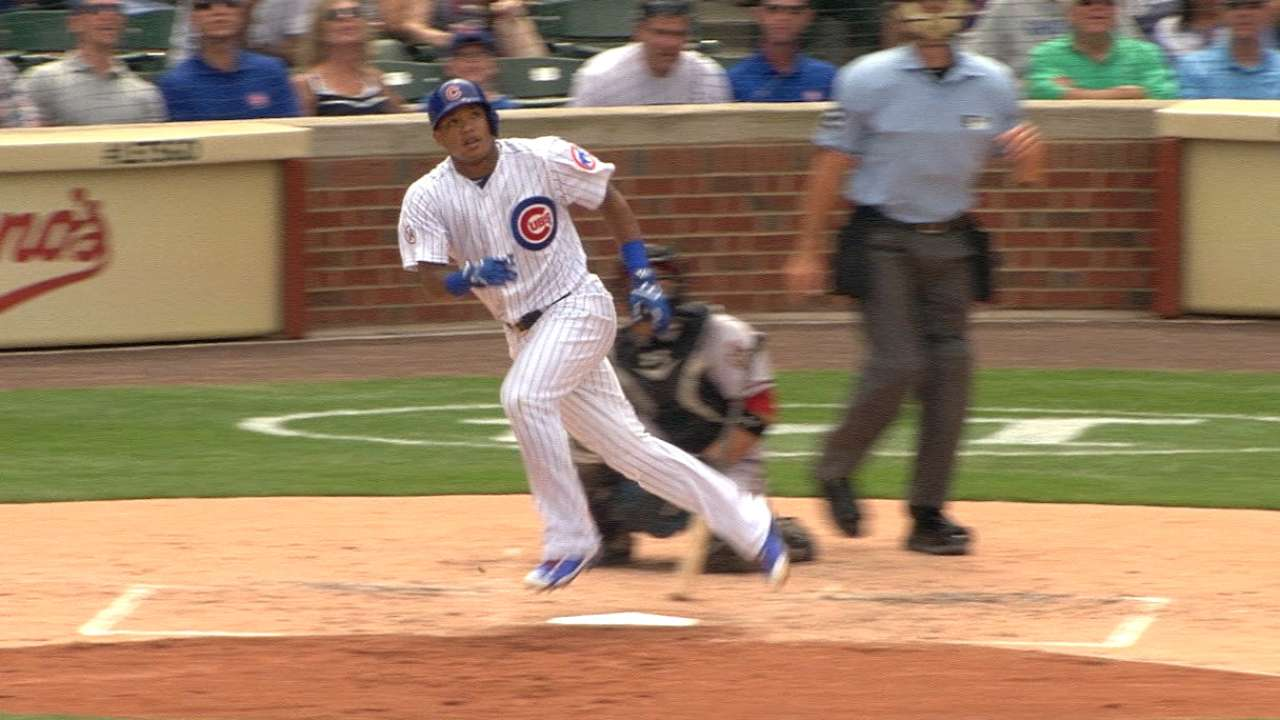 Must C: Russell rips two homers