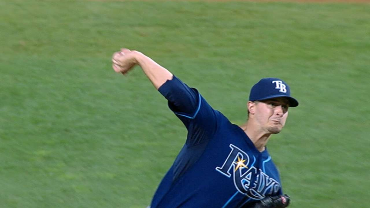 McCann continues to be thorn in Odorizzi's side