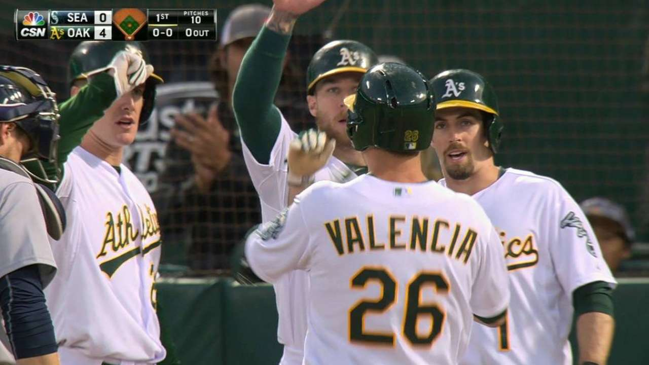 Red-hot Valencia making case for spot at third