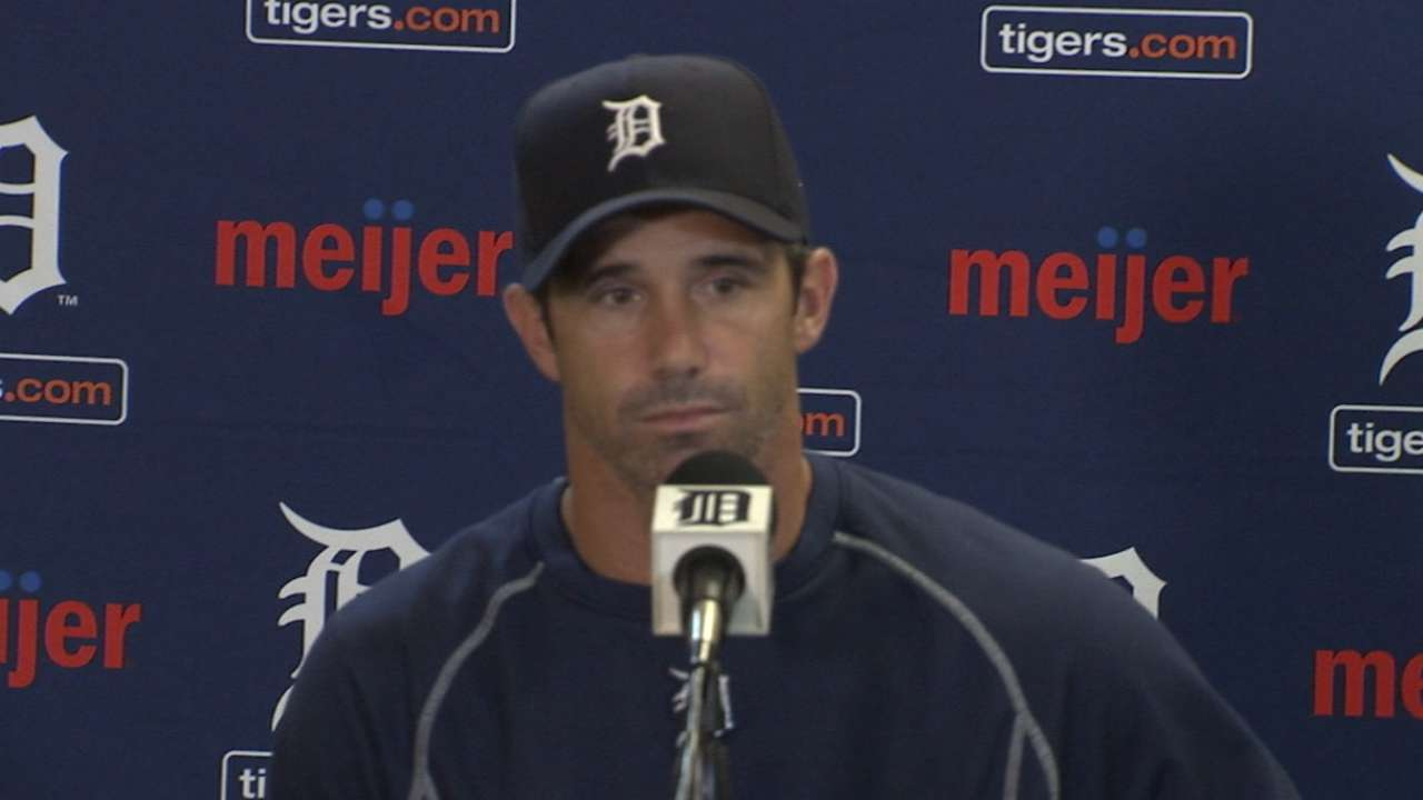 Ausmus on Machado, loss to Tribe
