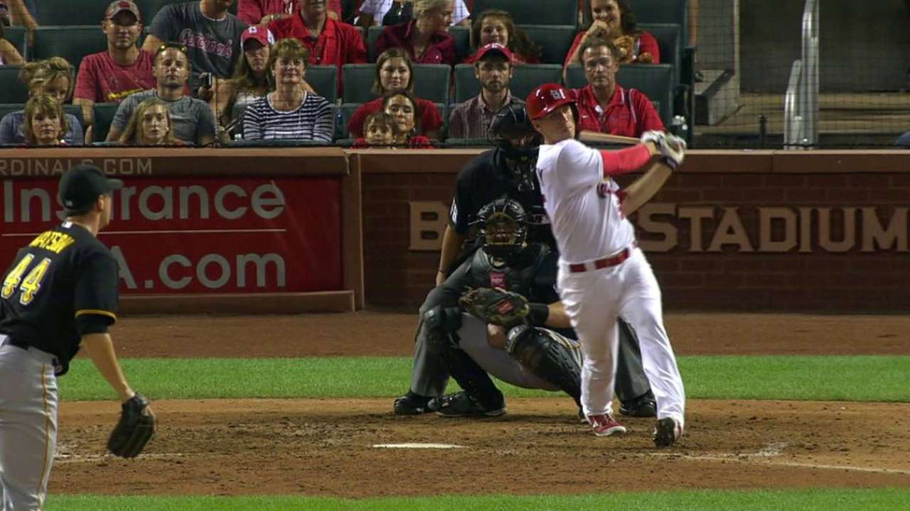 Cards allow Pirates to gain in race with loss