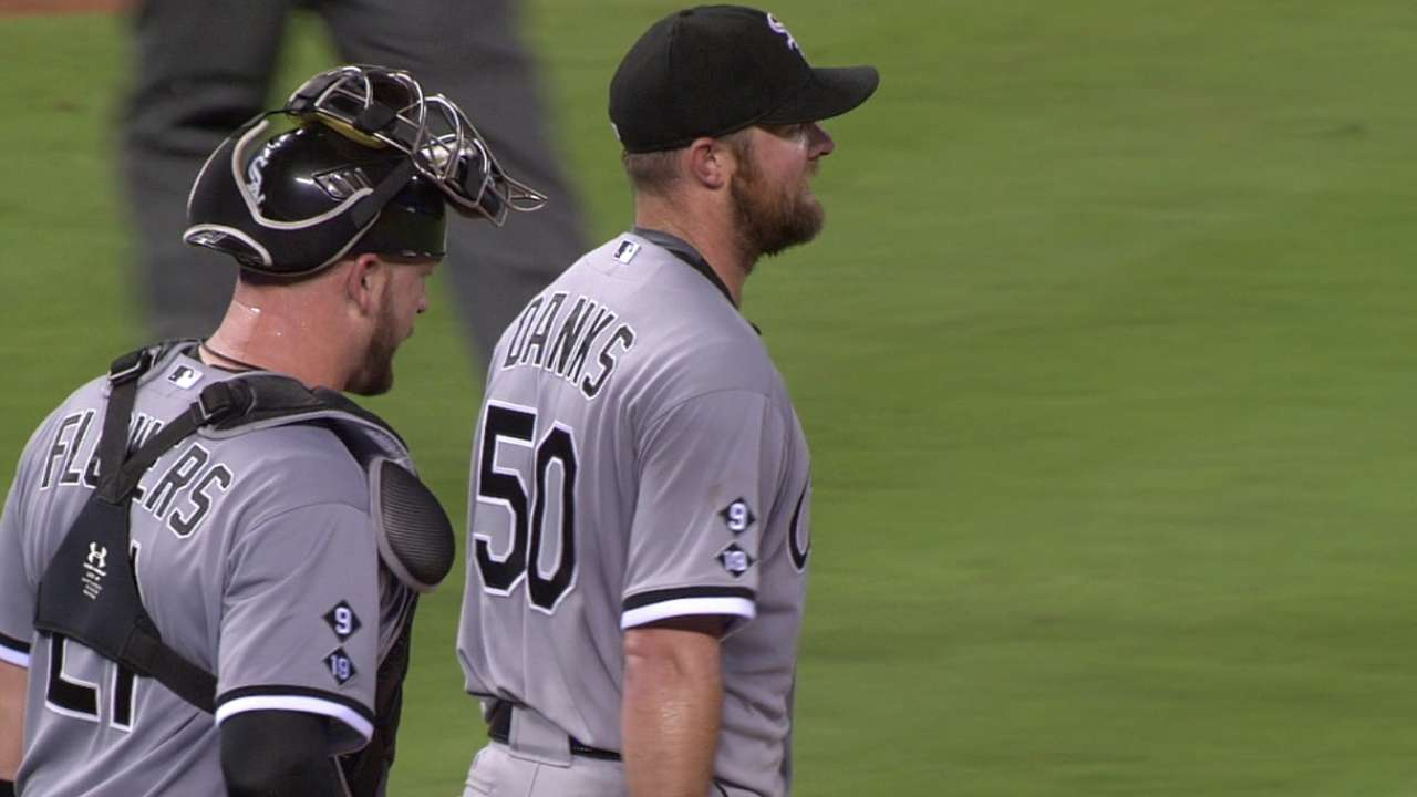 Danks in complete control in win over Royals