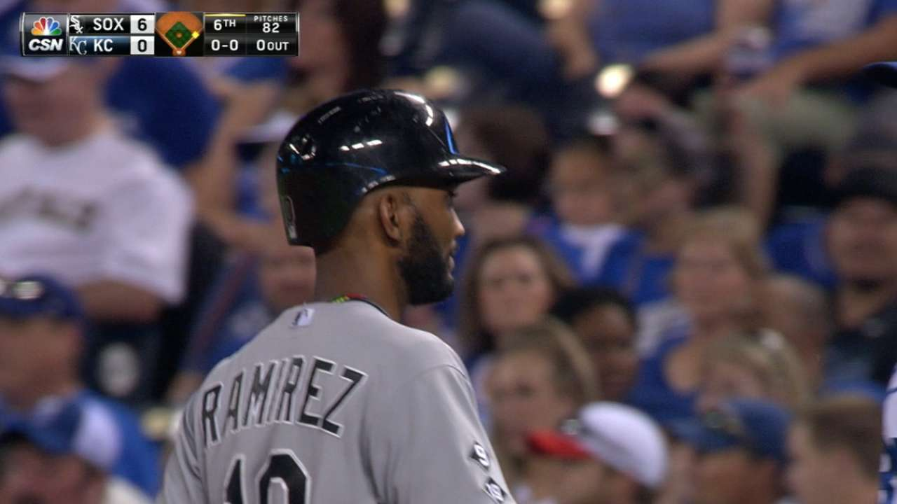 Ramirez's four-hit night