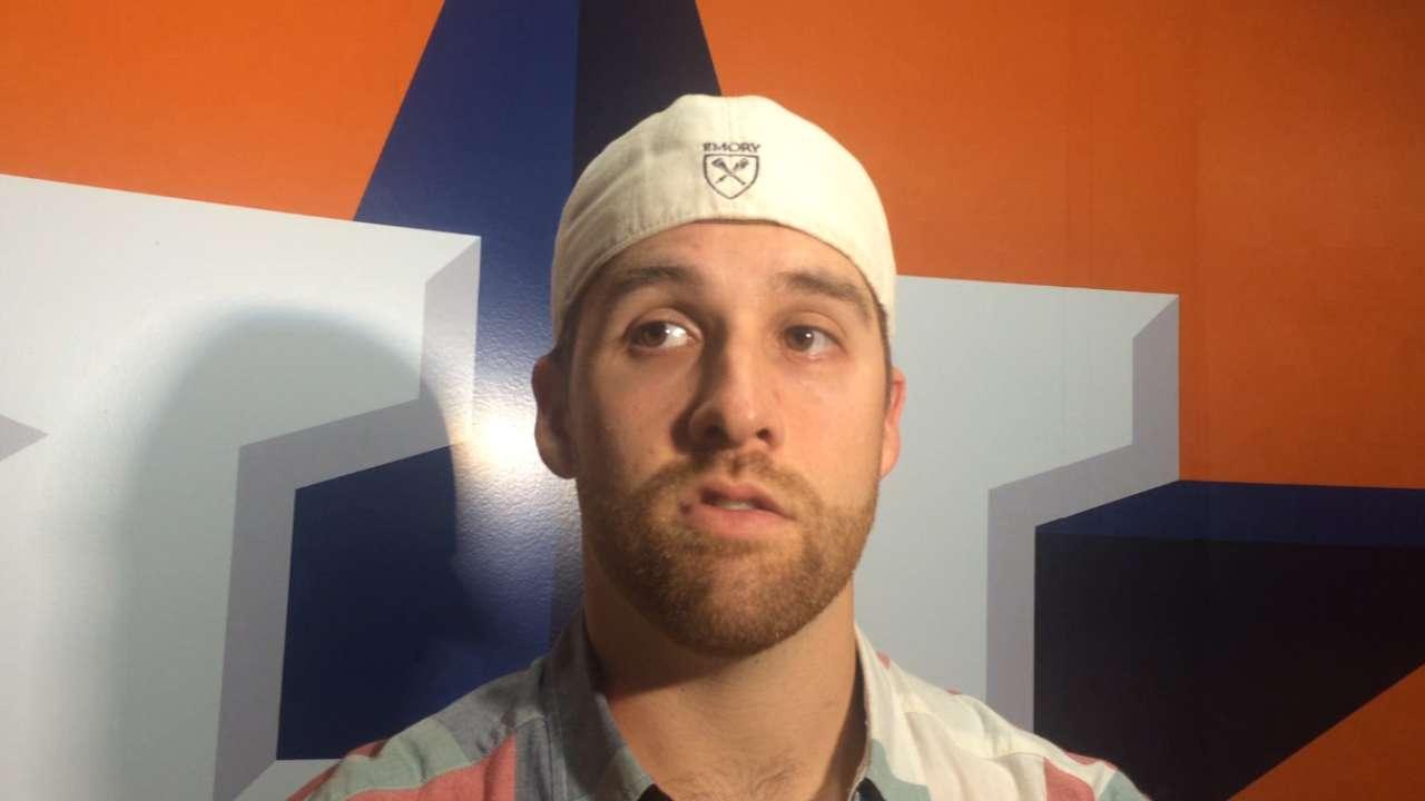 McHugh, Conger on Astros' win