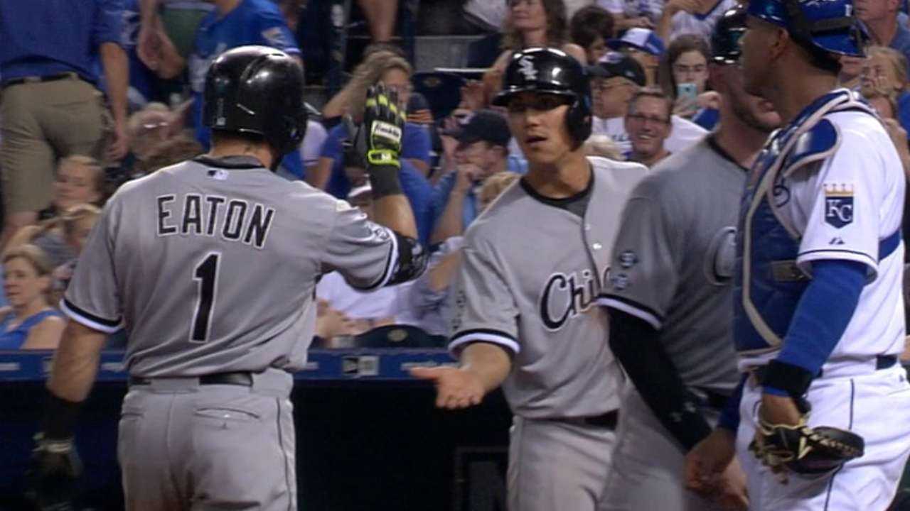 Eaton entertains notion of hitting lower in order