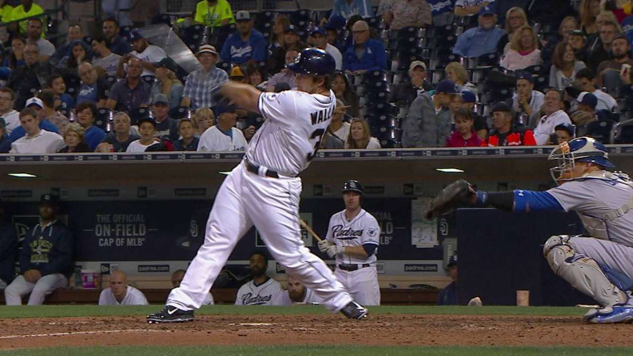Padres hit three homers, but 'pen gets pounded