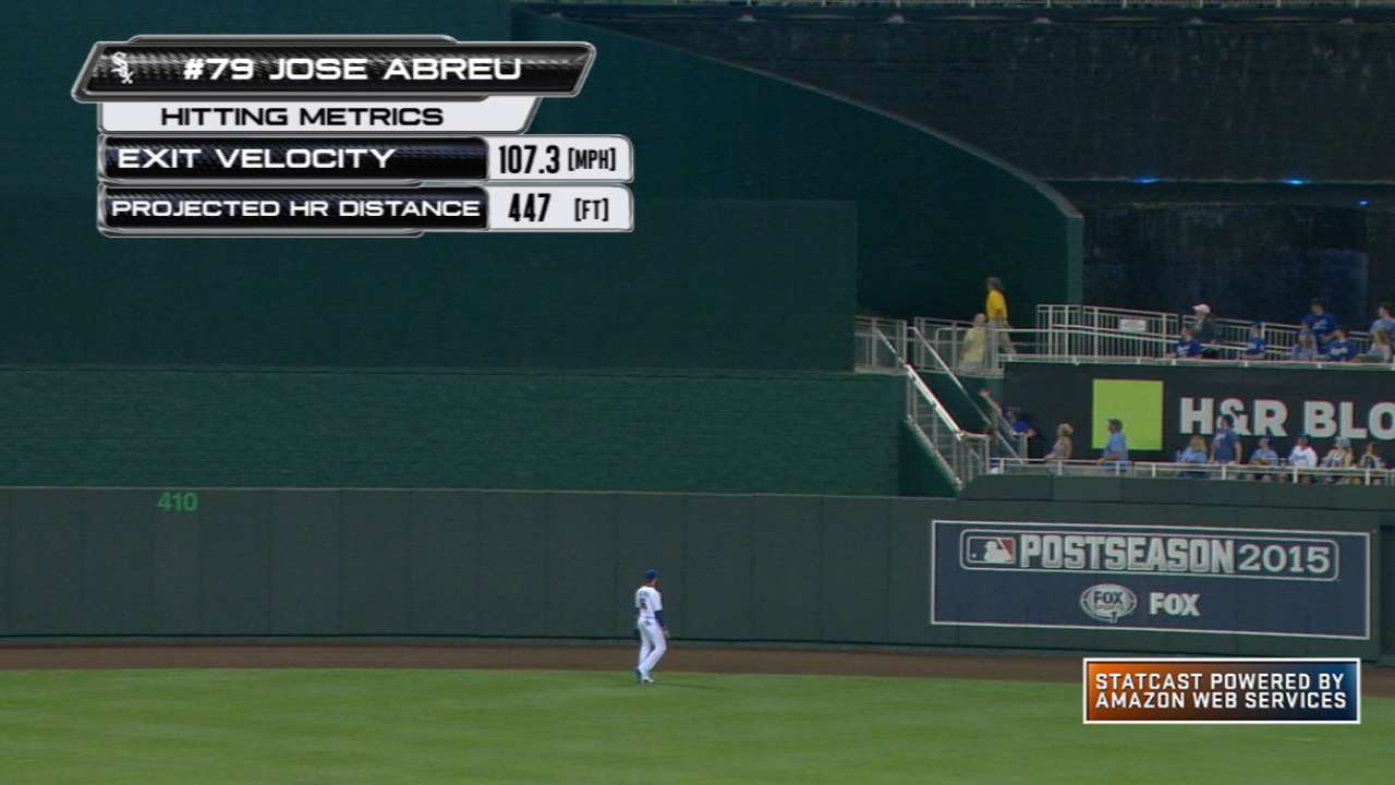 Statcast: Abreu's 447-foot homer
