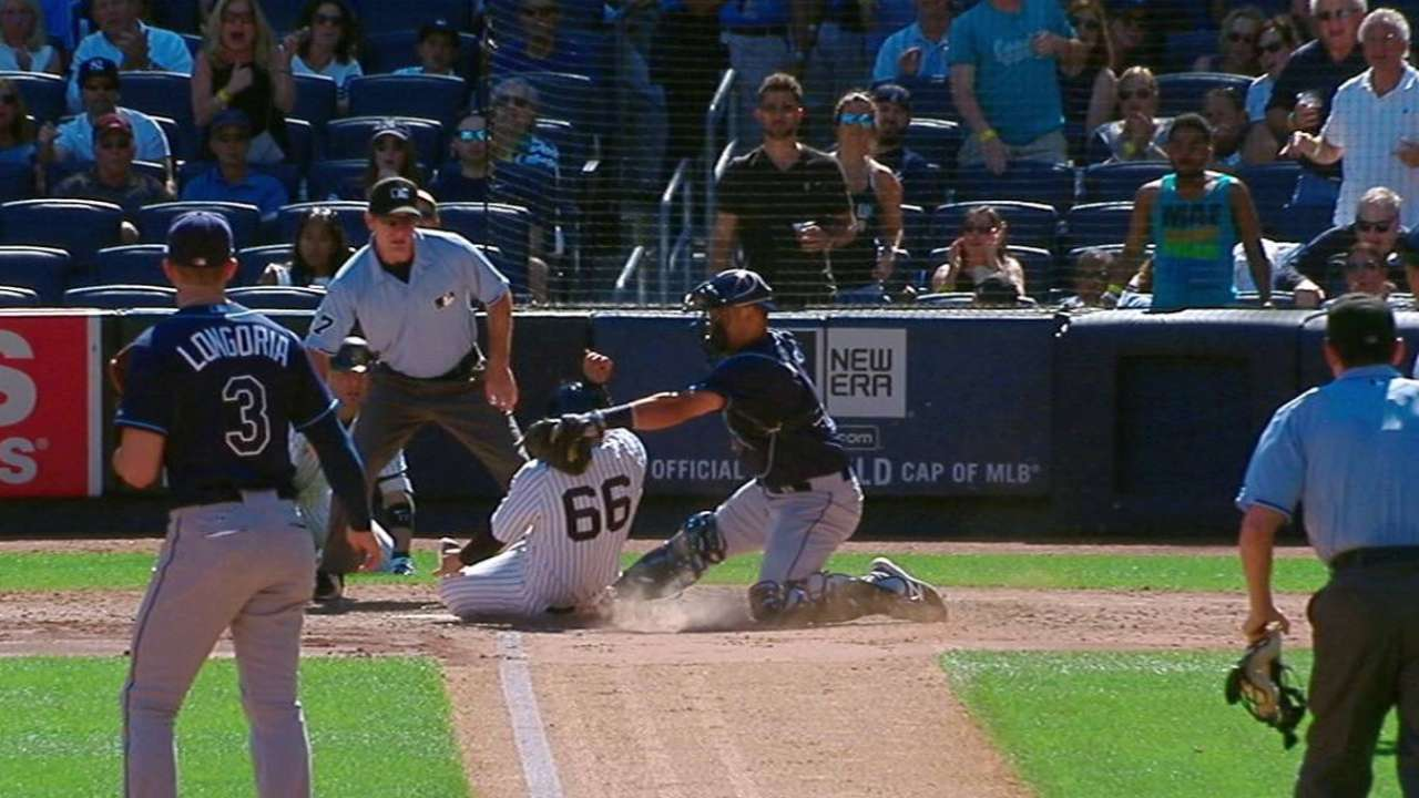 Gregorius' RBI double
