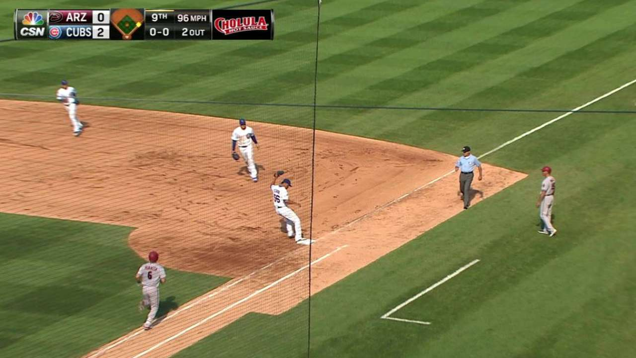 Rondon picks up the save