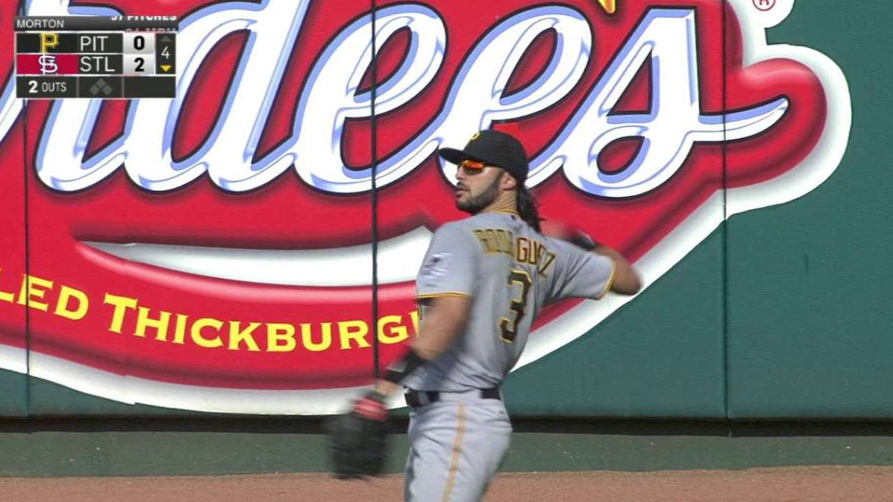 Pirates bring back Rodriguez on 1-year deal