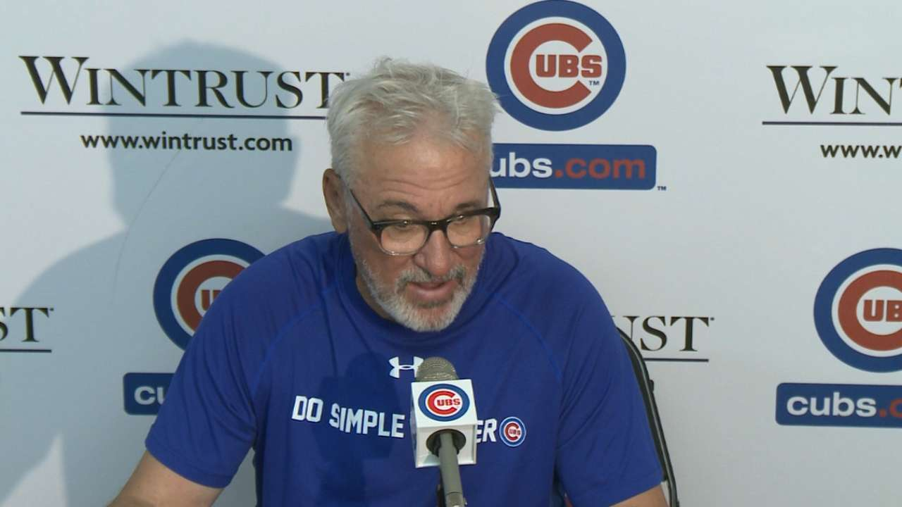 Maddon on the Cubs 2-0 win